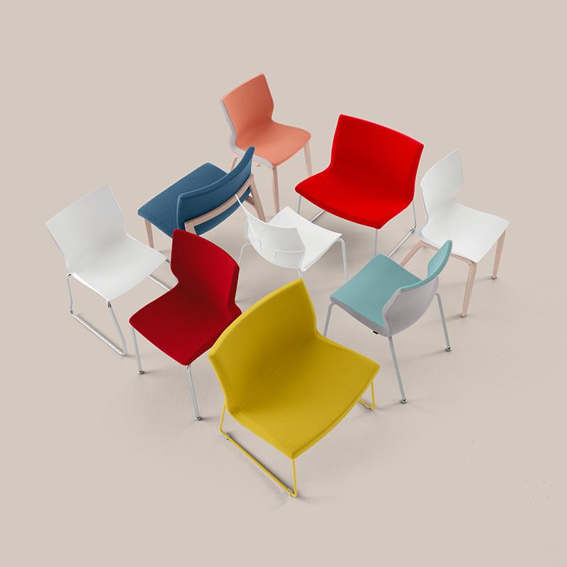 Cadeiras Reunião Nina Collection